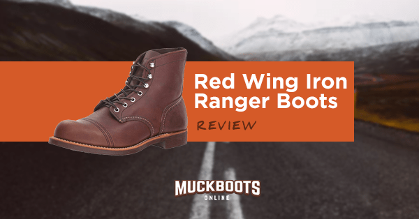 red wing iron ranger boots review