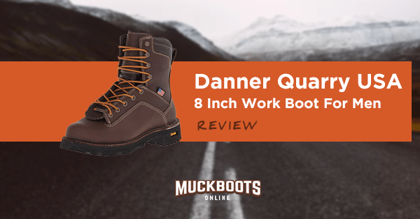 danner quarry usa 8 inch work boot for men