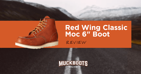 red wing classic moc 6 boot review