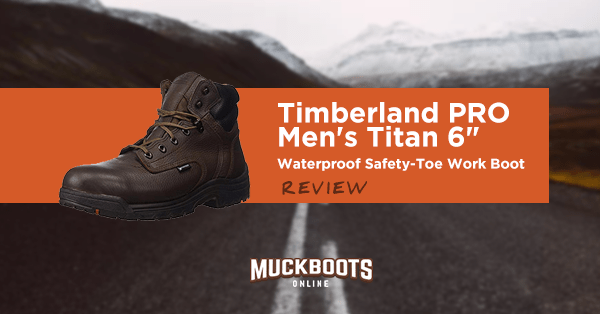 timberland pro men's titan 6 waterproof safety-toe work boot