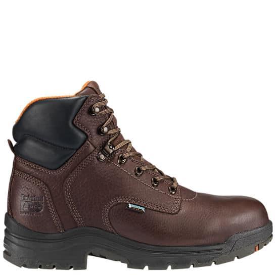 timberland pro men's 26078 titan 6″ waterproof work boot