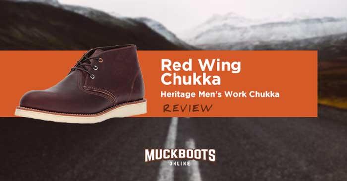 Red Wing Chukka